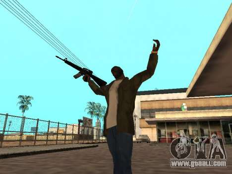 WeaponStyles for GTA San Andreas