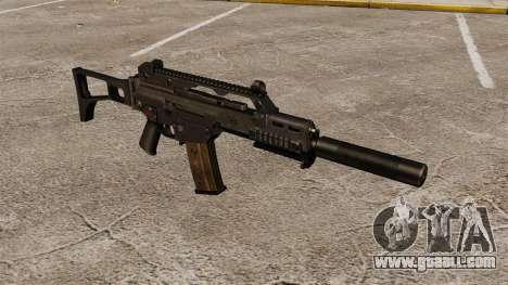 HK G36C assault rifle v2 for GTA 4