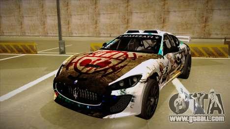 Maserati Gran Turismo MC 2009 for GTA San Andreas