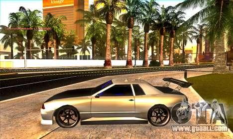 Elegy Drift Concept for GTA San Andreas