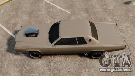 New Buccaneer v2 for GTA 4 back left view