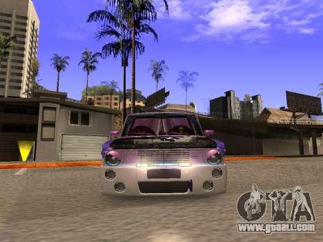 Vaz 2102 Fun DRFT for GTA San Andreas back view