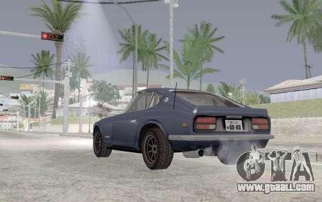 Nissan Fairlady Z AKUMA for GTA San Andreas back left view