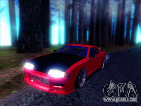 Elegy Drift Concept for GTA San Andreas back left view