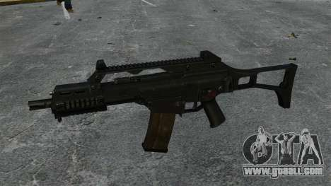 HK G36C assault rifle v1 for GTA 4 third screenshot
