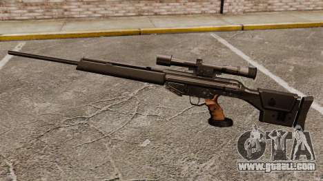 HK PSG10 sniper rifle for GTA 4 third screenshot