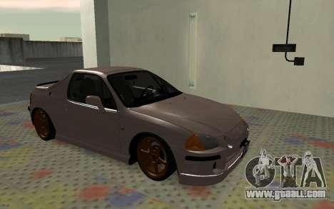 Honda CRX DelSol TMC for GTA San Andreas left view