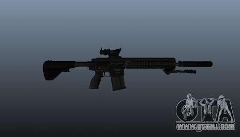 HK417 rifle v1 for GTA 4 third screenshot