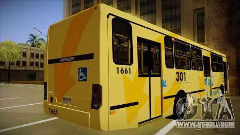 Busscar Urbanuss Ecoss MB OF 1722 M BHBUS for GTA San Andreas right view