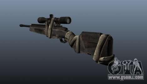 Sniper rifle Steyr Elite for GTA 4 second screenshot