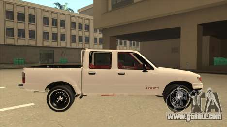 Toyota Hilux 2004 for GTA San Andreas back left view