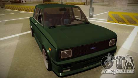 Fiat 128 Europe V Tuned for GTA San Andreas left view