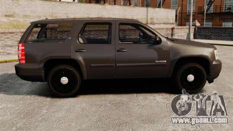 Chevrolet Tahoe Slicktop [ELS] v2 for GTA 4 left view