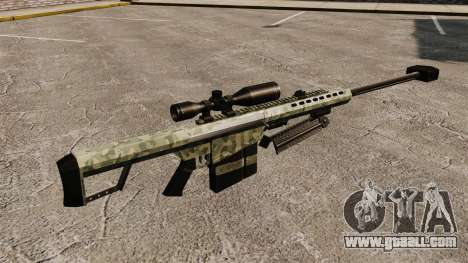 The Barrett M82 sniper rifle v6 for GTA 4 second screenshot