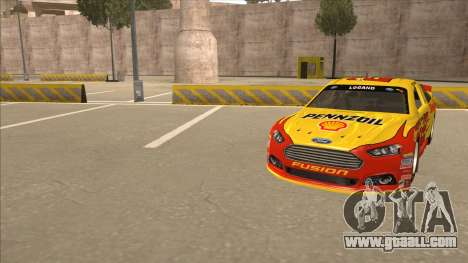 Ford Fusion NASCAR No. 22 Shell Pennzoil for GTA San Andreas