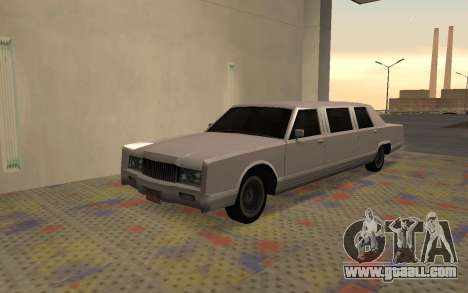 Limousine Driver Parallel Lines of for GTA San Andreas
