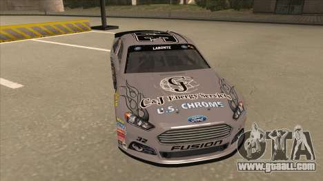 Ford Fusion NASCAR No. 32 C&J Energy services for GTA San Andreas left view