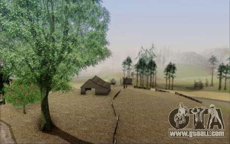 New vegetation 2013 for GTA San Andreas third screenshot