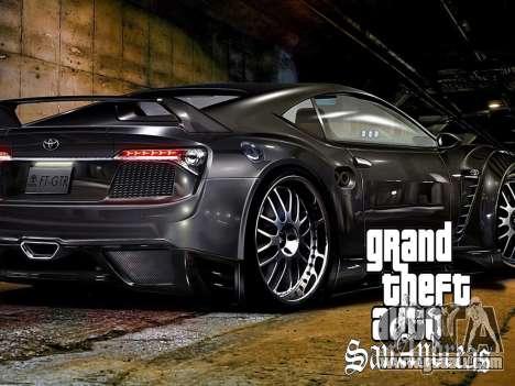 New loading screens for GTA San Andreas eighth screenshot