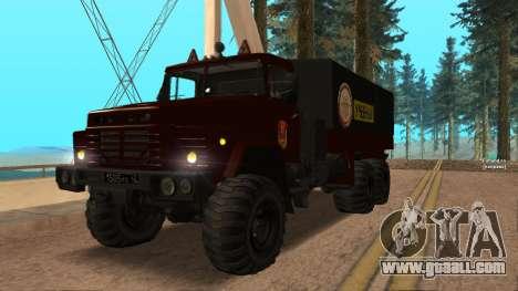 Truck driving school v. 2.0 for GTA San Andreas