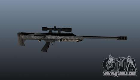 Barrett M99 sniper rifle for GTA 4 third screenshot
