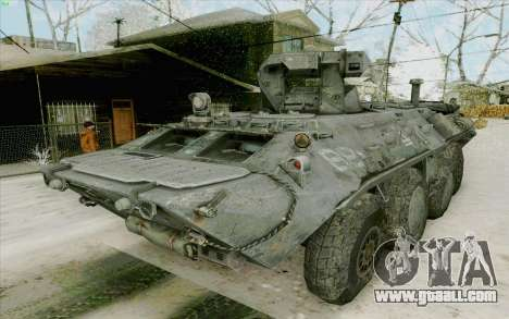 BTR-80 for GTA San Andreas