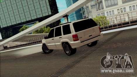 Jeep Grand Cherokee for GTA San Andreas