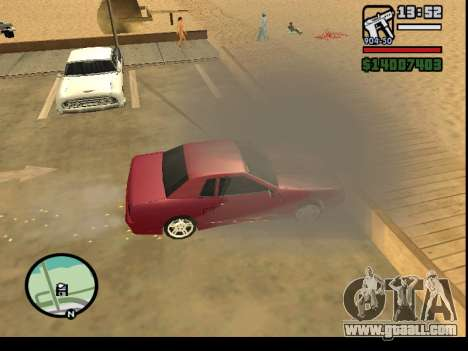 GTA V to SA: Burnout RRMS Edition for GTA San Andreas sixth screenshot