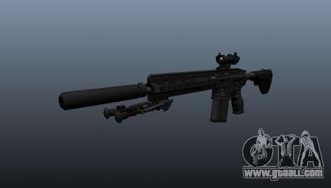 HK417 rifle v1 for GTA 4