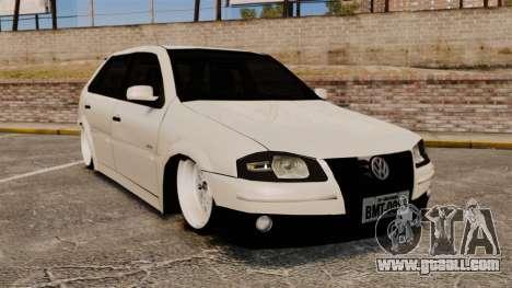 Volkswagen Gol G4 BBS for GTA 4