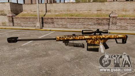 The Barrett M82 sniper rifle v9 for GTA 4 third screenshot