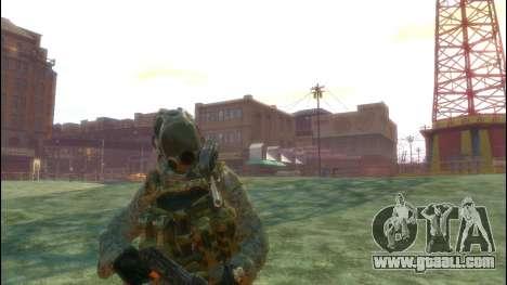 A Russian soldier v3.0 for GTA 4 third screenshot