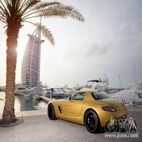 Loading screens Mercedes-Benz for GTA 4 forth screenshot