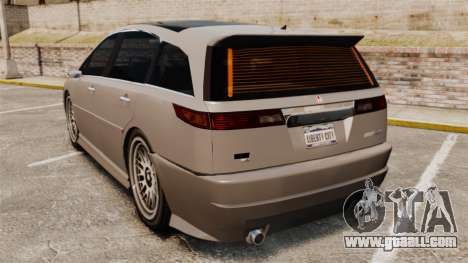 Dinka Honda Odyssey JDM Version for GTA 4 back left view
