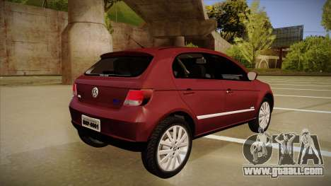VW Gol Power 1.6 2009 for GTA San Andreas right view