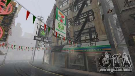 Shops of Chinatown for GTA 4 forth screenshot