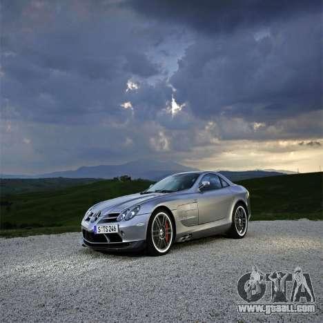 Loading screens Mercedes-Benz for GTA 4 sixth screenshot