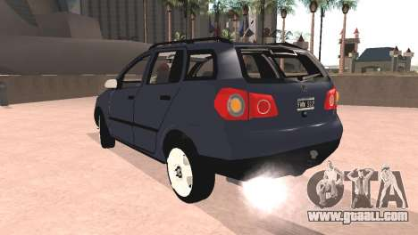 Volkswagen Suran for GTA San Andreas left view