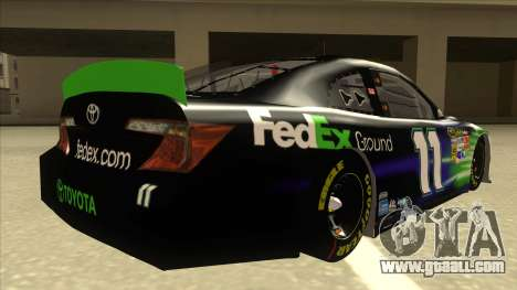 Toyota Camry NASCAR No. 11 FedEx Ground for GTA San Andreas right view