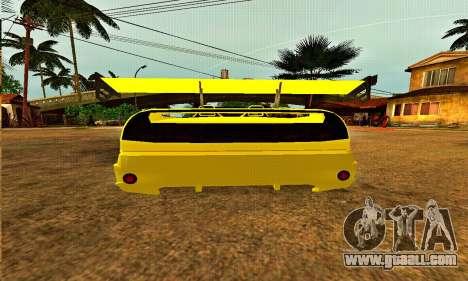 Infernus Cabrio Edition for GTA San Andreas right view