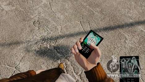Themes for phone Vampire The Masquerade for GTA 4 seventh screenshot