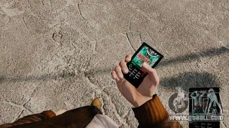 Themes for phone Vampire The Masquerade for GTA 4 third screenshot
