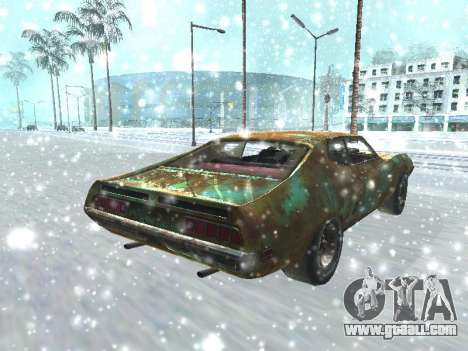 Ford Torino Rusty for GTA San Andreas back left view