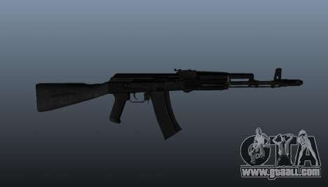 AK-74 m for GTA 4 third screenshot