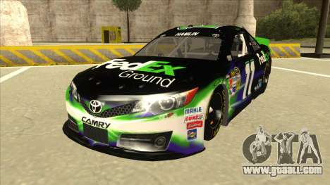 Toyota Camry NASCAR No. 11 FedEx Ground for GTA San Andreas