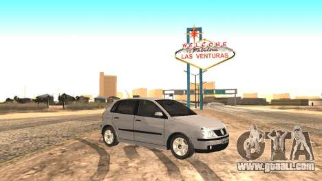 Volkswagen Polo 2.0 2005 for GTA San Andreas