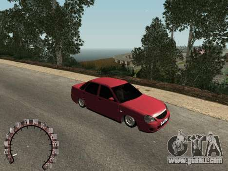 Lada 2170 Priora for GTA San Andreas left view