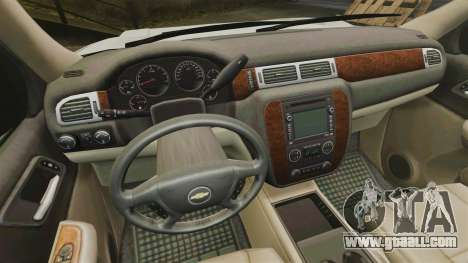 Chevrolet Tahoe Slicktop [ELS] v2 for GTA 4 back view