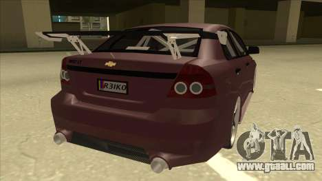 Chevrolet Aveo LT Tuning for GTA San Andreas right view