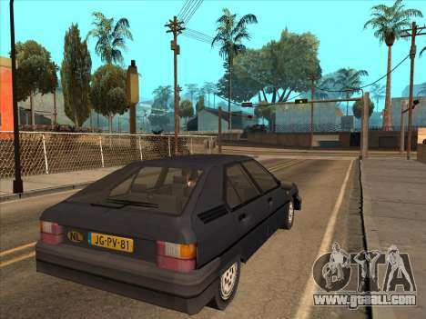 Citroën BX for GTA San Andreas left view